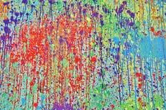 måla färgstänk Royaltyfri Fotografi