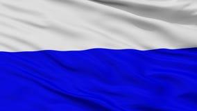 Mlada Boleslav City Flag, República Checa, opinião do close up Ilustração Stock