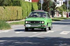 Mlada Boleslav, Czech republic - Sep. 4. 2021 - Skoda classic tour