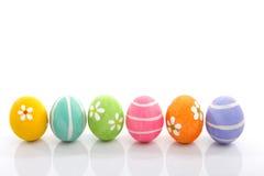 målade easter ägg Arkivbild