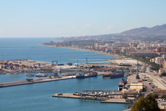 Málaga, España Fotografía de archivo libre de regalías