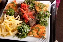 Mélange grillé Images stock