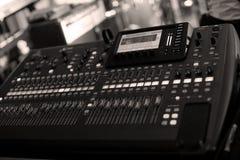 Mélange sain DJ Photos libres de droits