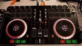 Mélangeur du DJ Photo stock