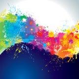 målarfärgwave Royaltyfri Fotografi