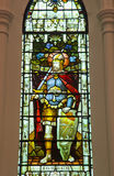 Målat glassfönster av kyrkan Royaltyfri Foto