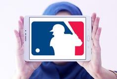 MLB, логотип высшей лиги бейсбола Стоковая Фотография