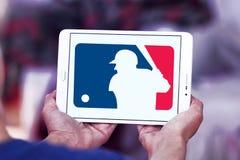 MLB, логотип высшей лиги бейсбола Стоковое Изображение RF