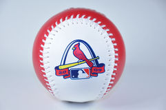 MLB 2009 all star baseball. Is a shot of the promotional item mlb used for the 2009 all-star game in st. louis Royalty Free Stock Image