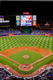 MLB Atlanta Braves - From High above Stock Photo