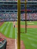 MLB-Foul Pole Lizenzfreie Stockbilder