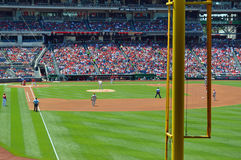 MLB Foul Pole Royalty Free Stock Images
