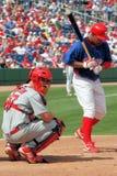 MLB Philadelphia Phillies versus de Kardinalen van St.Louis Stock Foto's