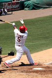 MLB St Louis Cardinals Player Albert Pujols Stock Image