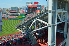 MLB-Stadionarchitectuur Royalty-vrije Stock Foto's