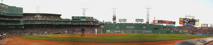 MLB Texas Rangers vs Boston Red Sox Stock Photos