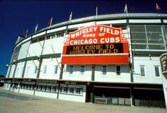 MLB Wrigley stellen auf Stockbild