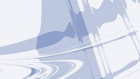 Mlecznoniebieski popielaty abstrakcjonistyczny fractal tło Rozsądne fala i czochry na prostym tle nowożytna cyfrowa sztuka Kreaty ilustracji