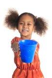 mleko amerykański azjatykci dzieci napojów włosy tęsk mleko Zdjęcie Royalty Free