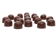 mleko czekoladowe cukierki Zdjęcia Stock