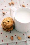 Mleko i ciastka Obraz Royalty Free