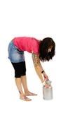 Mleko puszka Fotografia Stock