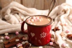 Mleko z kakao fotografia stock