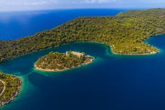 Mljet Royalty Free Stock Images