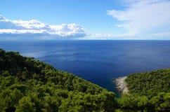 Mljet coast 14 Royalty Free Stock Images