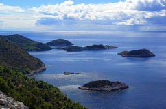 Mljet Coast 25 Royalty Free Stock Photos