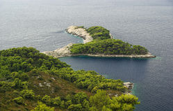 Mljet coast 28 Royalty Free Stock Photos