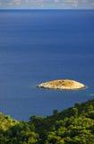 Mljet Island before the coast 10 Royalty Free Stock Images