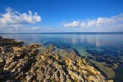 Mljet island. Croatia. Picturecque view of shore of Mljet island. Croatia Stock Image
