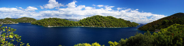 Mljet Northern coast 06 Royalty Free Stock Images