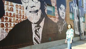 MLK στοκ εικόνα με δικαίωμα ελεύθερης χρήσης