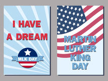 Mlk cards Royalty Free Stock Image