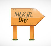 MLK jr. day wood sign illustration design Stock Photos