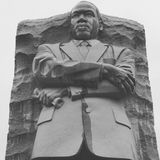 MLK Junior. Statue of Martin Luthor King Junior Royalty Free Stock Photography
