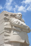 MLK memorial monument. Monument to Martin Luther King in Washington DC Stock Images