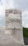 MLK memorial monument. Monument to Martin Luther King in Washington DC Stock Photos