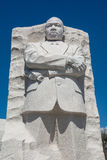 MLK Memorial in Washington DC. Martin Luther King Memorial in Washington DC.  Carved out of white stone Royalty Free Stock Photography