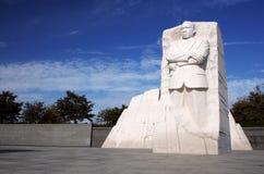 MLK-minnesmärke Arkivfoto