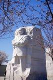 MLK-monument i vår Fotografering för Bildbyråer