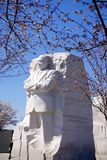 MLK Monument in spring Stock Image