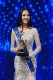 Mlle All Nations Thailand 2017, rond final Images libres de droits