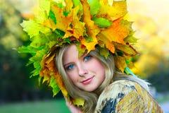 Mlle Autumn Image stock