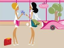 Mlle Boo illustration stock