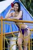 Mlle Earth Candidate Photographie stock libre de droits