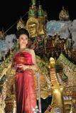 Mlle Loi Krathong Images libres de droits
