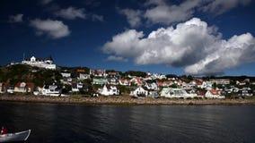 Mölle Sweden stock footage